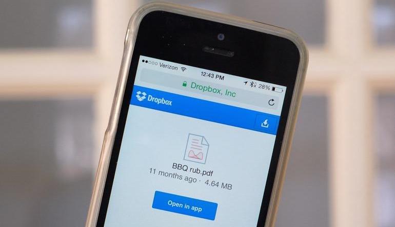 Dropbox-mobile-app